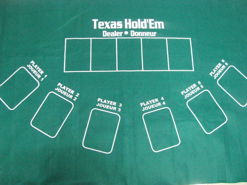The Texas Holdem Layout